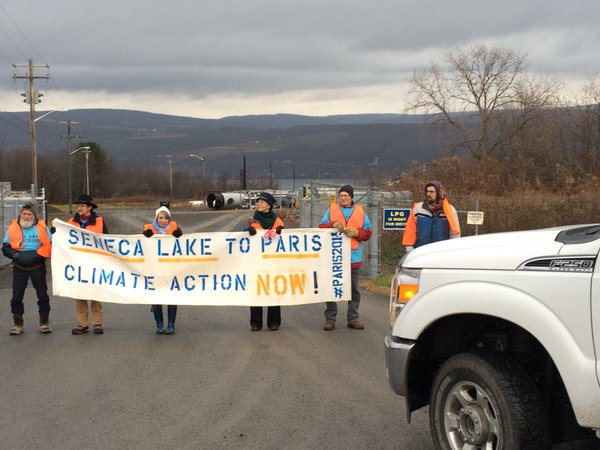 Seven Arrested In Ny Demanding Quot Climate Action Now Quot